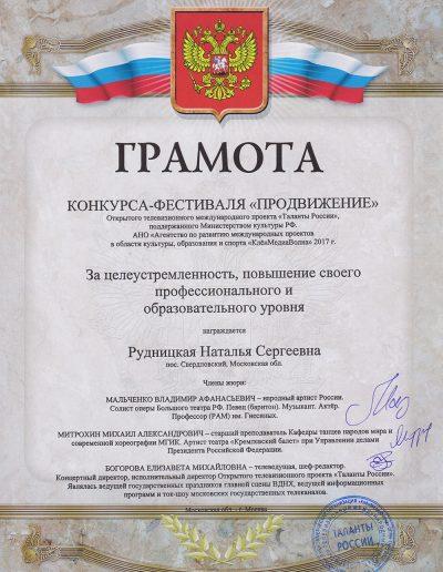 Продвижение - Таланты России